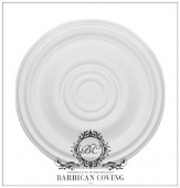 The Villette Plaster Ceiling Rose 641mm